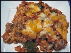 Holy Cannoli Recipes: Undone Stuffed Pepper Casserole