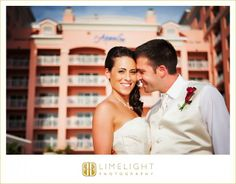 Hyatt Regency Clearwater Beach Resort and Spa, Limelight Photography, Bride and Groom, www.stepintothelimelight.com
