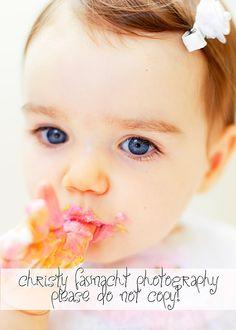 #1 year old photo shoot #cake smash