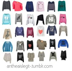 $32 on polyvore! OMG I love polyvore | Cool hoodies and sweaters ...
