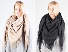 Alaska scarf, Acne