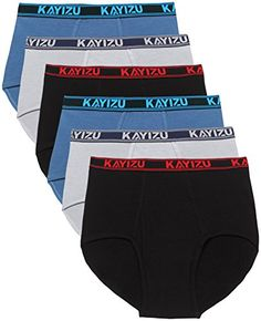de18642b1790d9 Mens Underwear KAYIZU Brand Soft Cotton Classic Brief Small 6Pack   Click  on the image for