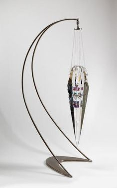 Pedulum Tribal Mask - Jon Kuhn - Contemporary Glass
