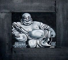 Laughing Buddha by Treacey