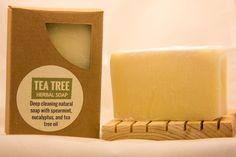 Tea Tree Soap - excellent facial soap and general moisturizing soap