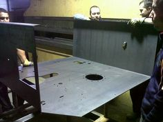Bending large parts on a press brake - Steel Profile Brasov