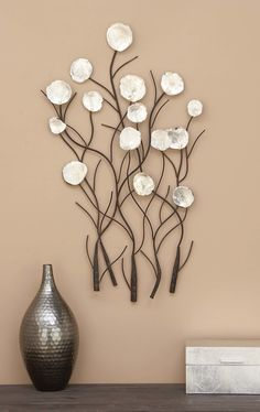 101 Unique Wall Decorations Ideas To Create Beautiful Home - Are you searching for a way to add beauty and personality to your home? Then consider adding unique wall decor. When you think of unique wall decor on. Unique Wall Decor, Metal Wall Decor, Diy Wall Art, Wall Décor, Modern Decor, Wood Wall, Wall Decor Design, Diy Wand, Handmade Home Decor