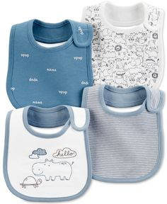 Mix and match with these sweet teething bibs. With a lining and oh-so cute prints and slogans, these bibs will keep baby dry and adorable all day long. Baby Boy Bibs, Carters Baby Boys, Baby Boy Accessories, Clothing Accessories, Boy Clothing, Teething Bibs, Baby Clothes Shops, Baby Gear, Little Babies