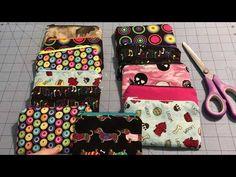(247) How I make zippered coin purses - YouTube Diy Denim Coin Purse 67f23ed933d4d