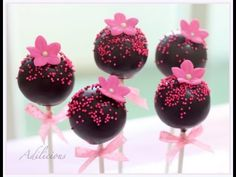 How to make Cakepops! NEW IMPROVED Cake Pop Recipe! Firm, stable and perfect for 3D Cakepops! - YouTube