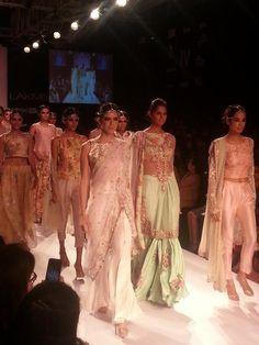 Zara Shahjahan @zarasaif https://www.facebook.com/zarashahjahan #Pakistan @ #LakmeFashionWeek Winter/Festive 2014