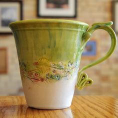 Hand-made ceramic coffee mugs :)