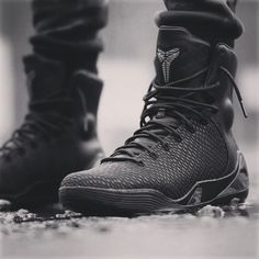 "Nike Kobe 9 High KRM EXT ""Black Mamba""  Basketball or Lifestyle?  #nike #kobe9…"