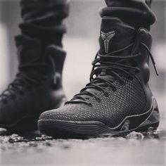 "Nike Kobe 9 High KRM EXT ""Black Mamba"" Basketball or Lifestyle? #nike #kobe9…"