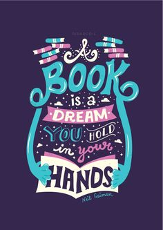 I love this inspiring typographic quote by Risa Rodil #quote #illustration #typography #inspiring #motivation #book #dream