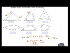 Geometry - Find the value of pronumeral The Value, Maths, Geometry