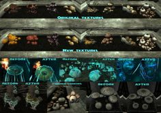 Realistic Mushrooms