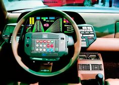 The Lancia Orca dashboard.  Jesus, it's worse than an Xbox controller.