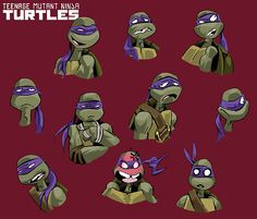 Teenage Mutant Ninja Turtles (2012) concept art.