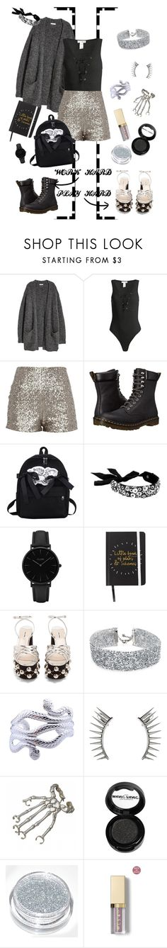 """Work hard, play hard"" by gwaihape ❤ liked on Polyvore featuring Kofta, Sans Souci, Dr. Martens, Forest of Chintz, CLUSE, Miu Miu, DANNIJO, Latelita, Bernard Delettrez and Manic Panic NYC"