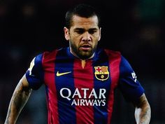 Team News: Dani Alves misses out for Barca #Barcelona #Valencia #Football