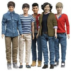 One Direction Barbie Dolls | Direction' Dolls Available NOW!