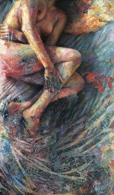 "David Agenjo; Acrylic, 2011, Painting ""Sonia"" Psychedelic Art, Illustrations, Illustration Art, Drawn Art, Wow Art, Art For Art Sake, Pics Art, Art Plastique, Figurative Art"