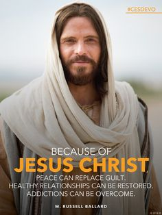 #BecauseOfHim we can be made whole. #peace #overcome #JesusChrist