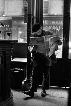 Café Lacour ~ Rue St. Paul ~ Paris ~ 1976 ~ Peter Turnley... Inspiration for your Paris vacation from Paris Deluxe Rentals