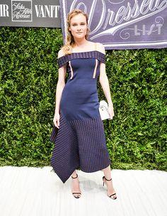 Actress Diane Kruger attends the 'Saks Fifth Avenue Hosts Vanity Fair International Best Dress List ' event at Saks Fifth Avenue on September 21 2016...