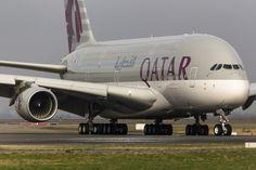 Qatar Airways Airbus A380 A7-APD.