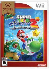 Nintendo Selects highlights a variety of great games at a great price, including this one. Launch into a universe of gravity warping worlds in the sequel to one of the greatest games of all time! Yoshi joins Mario as they traverse a wild variety of galaxies exploding with imagination, helping out our hero as he gulps enemies, runs at super speed, or inflates like a blimp to reach high cliff tops. Whether Mario's leaping into orbit around tiny micro-planets, tumbling through rooms with con...