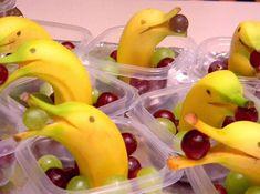Golfinhos de banana. Uma ideia bacana!