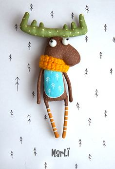 Loving moose on Behance