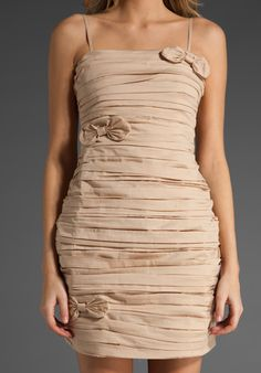 Paper bag dress mm couture