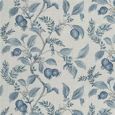 Free Interior Design, Interior Design Services, Interior Decorating, Fabric Decor, Fabric Design, Furniture Reupholstery, Toile Wallpaper, Blue Rooms, Sewing Hacks