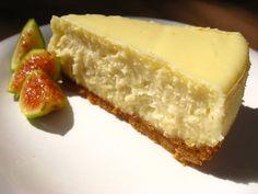52 Weeks of Baking: Lemon Goat Cheese Cheesecake | POPSUGAR Food