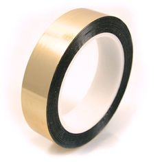 """Amazon.com: CS Hyde Metalized Mylar Tape with Acrylic Adhesive, 2.2mm Thick, Gold Color, 0.5"""" x 72 yds: Industrial & Scientific"""