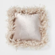 PINK FEATHERS CUSHION   Decorative Pillows   Bedroom | Zara Home