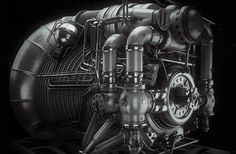 """Engine"" by David Lesperance"