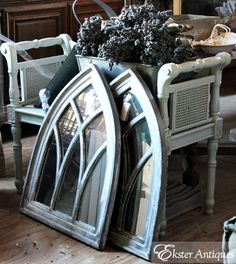 Ekster Antiques: Our Barn Sale Events.... I love these windows they look so unique
