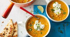 This easy and wholesome lentil soup is the perfect winter warmer for lunch or dinner.
