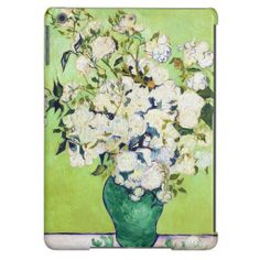 Vase with Roses Vincent Van Gogh painting ipad air case