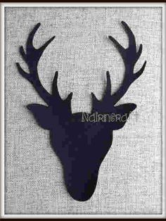 Stag Head  Deer Head  Buck Head  Applique  Patch  Ready  £3 each plus shipping anywhere in the world.
