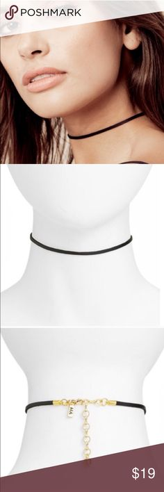 NEW Vanessa Mooney Black Tibi Choker Necklace NEW Vanessa Mooney Black Tibi Choker Necklace vanessa mooney Jewelry Necklaces