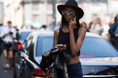 Milan Fashion Week Spring 2016 Street Style by photographers: Diego Zuko, Adam Katz, Phil Oh