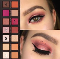 A look done with the Anastasia Modern Renaissance palette.
