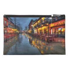 Street reflections Travel Accessory Bag