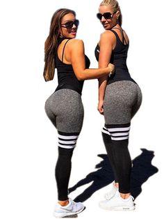 Women fashion sexy academia femininas fitness legins medieval fitness Workout stripe fitness apparel leggins mermaid leggings