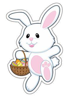 Felt Crafts Diy, Bunny Crafts, Bunny Party, Easter Party, Easter Paintings, Easter Pictures, Image Fun, Easter Printables, Bible Crafts